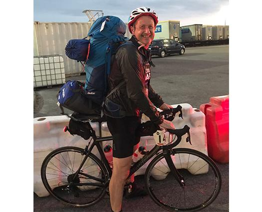 Duchenne Dash - Mark on Bike
