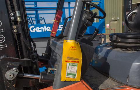 Fork Lift Truck Inspection Passed - SG World Crewe
