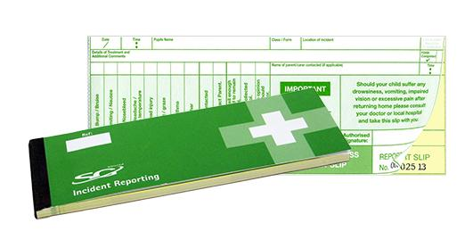 Incident Reporting Pad | SG World Crewe