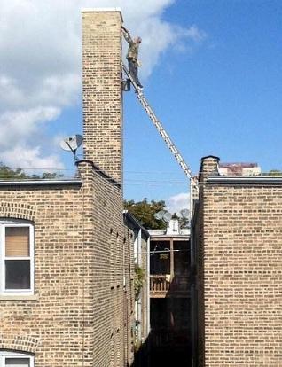 Using A Ladder Dangerously - SG World Ladder Inspections