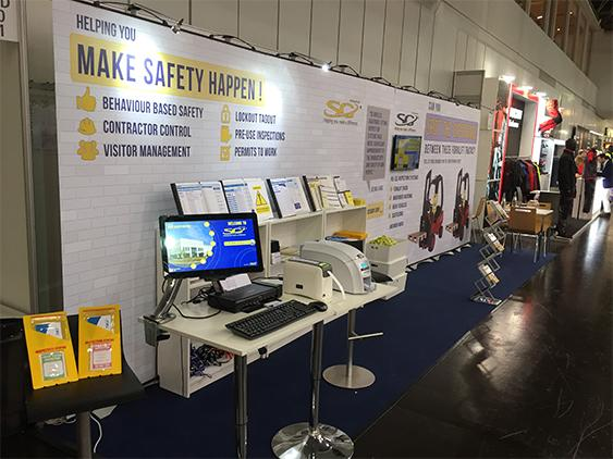 SG World stand at A+A Conference