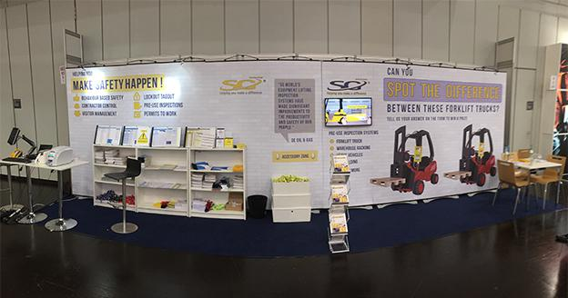 SG World stand at A+A Conference full image