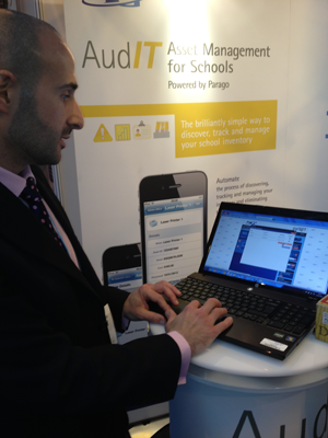 SG World Stand at The Academies Show April 2013