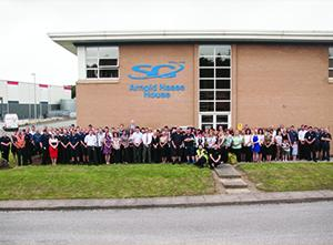 SG World Unveils New Name of Crewe Headquarters