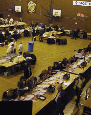 Election counting - SG World