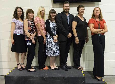 Lisa Pountain, Gillian Jones, Carol Davies, Abigail Thorley, Adam Hardcastle, Hilary Bateman, Lisa Robinson| SG World Crewe
