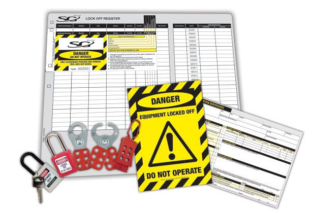 Loto - Lock Out Tag Out Kit   SG World