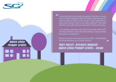 Testimonial Corner - Marsh Green Primary School