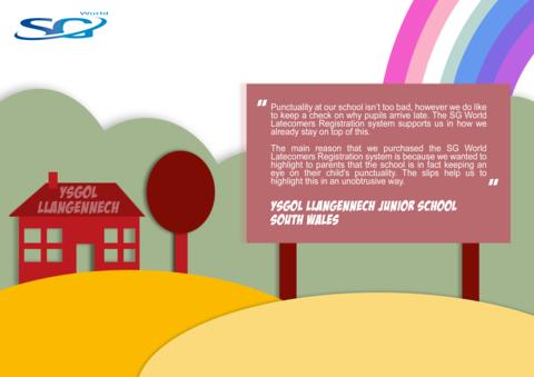 Testimonial Corner - Ysgol Llangennech Junior School