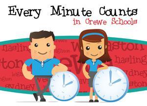 Cartoon Every Minute Counts SG World Schools