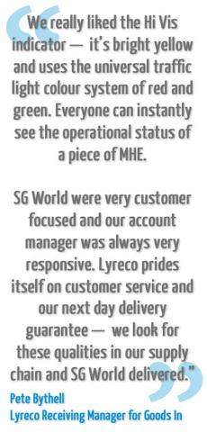 Pete Bythell Quote about SGW | SG World Crewe