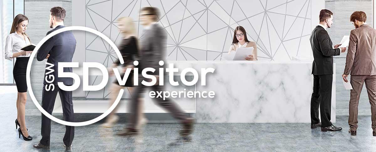 5D Visitor - evolving visitor management software