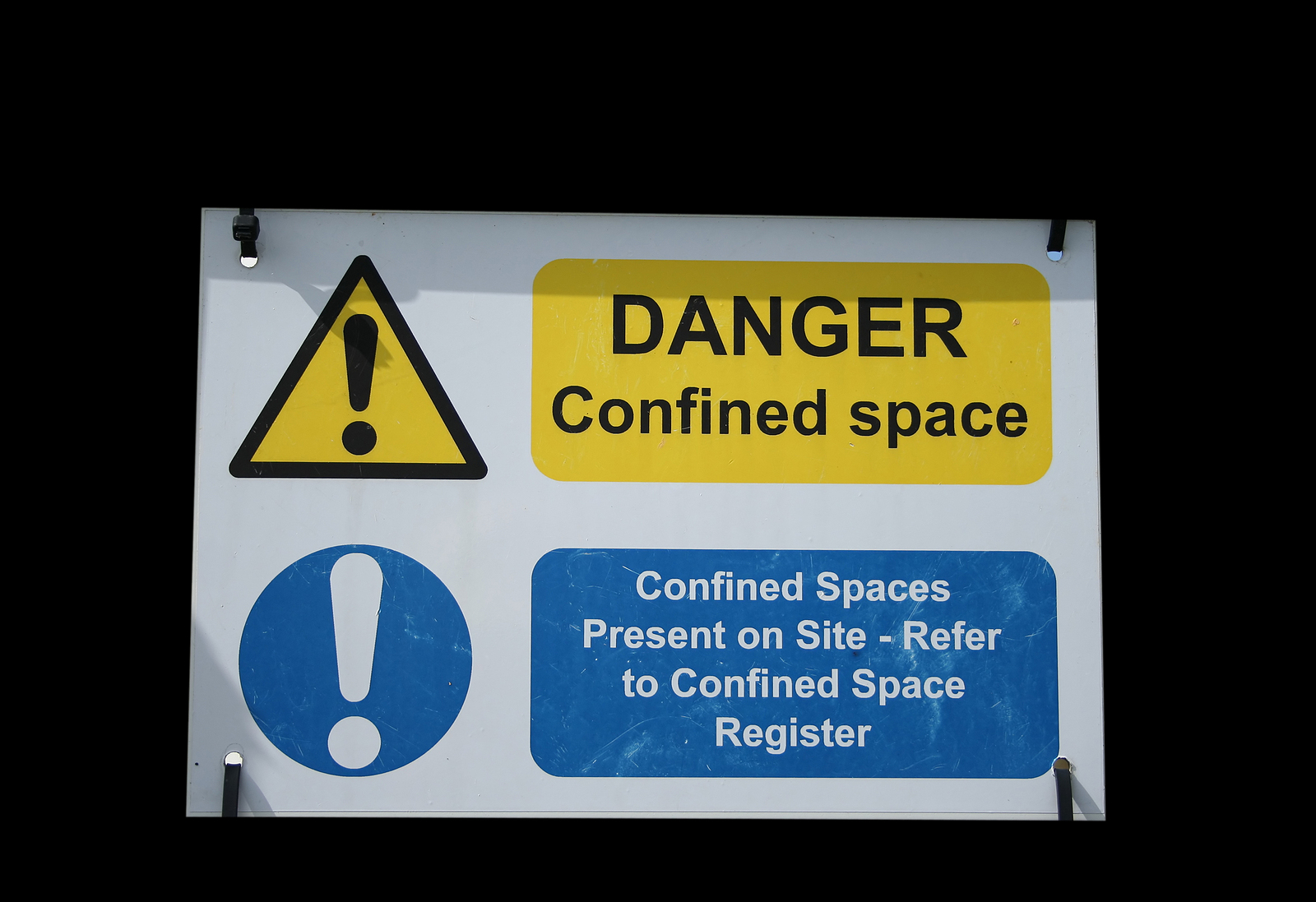 Confined Space Entry Permit to Work System